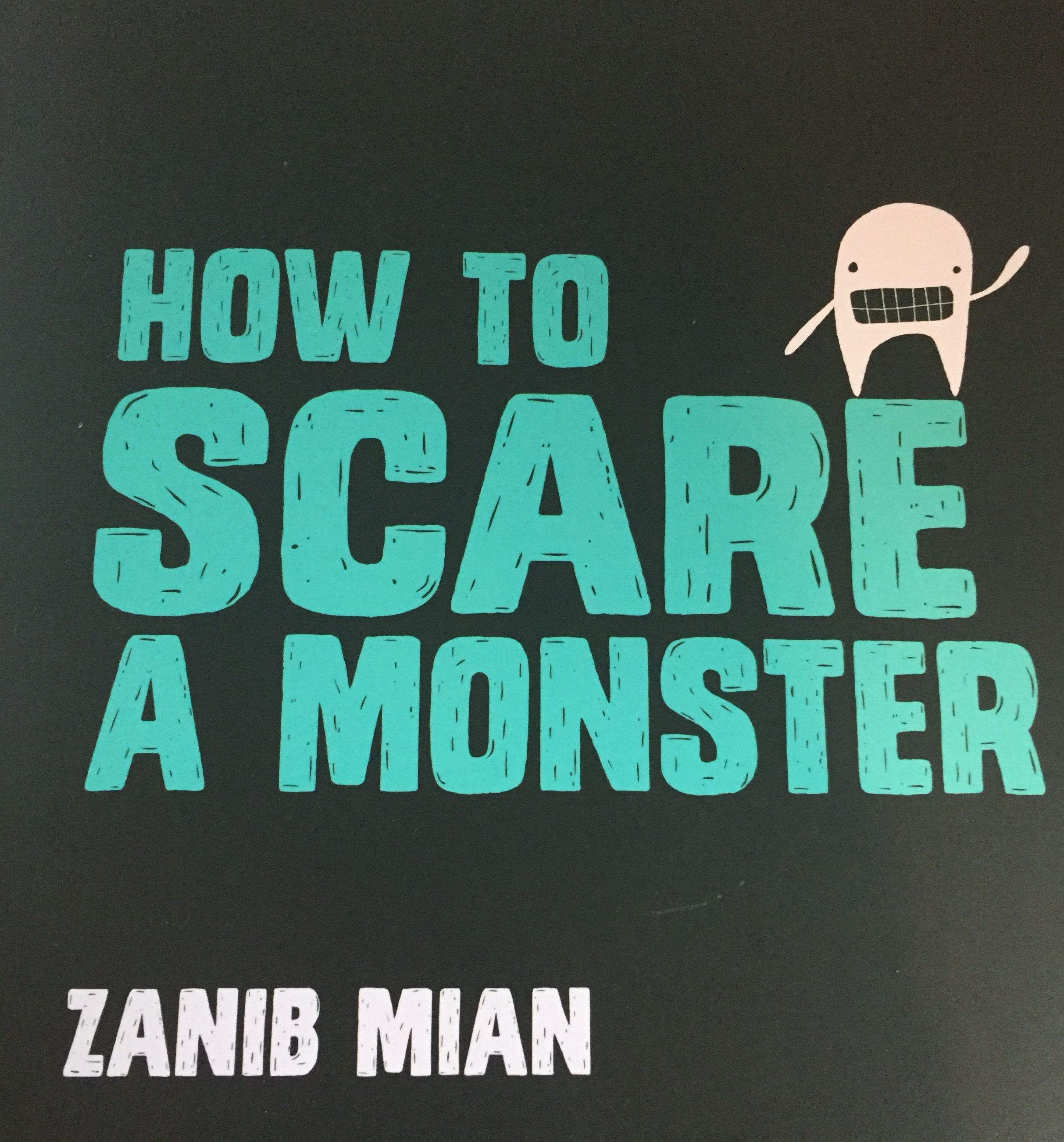 scare a monster