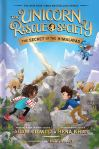 The Unicorn Rescue Society: The Secret of the Himalayas by Adam Gidwitz and Hena Khan illustrated by HatemAly